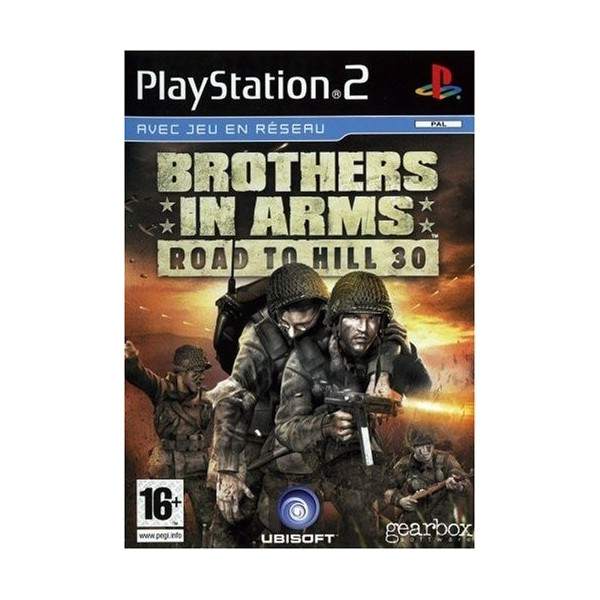 BROTHERS IN ARMS ROAD TO HILL 30 PS2 PAL-FR OCCASION