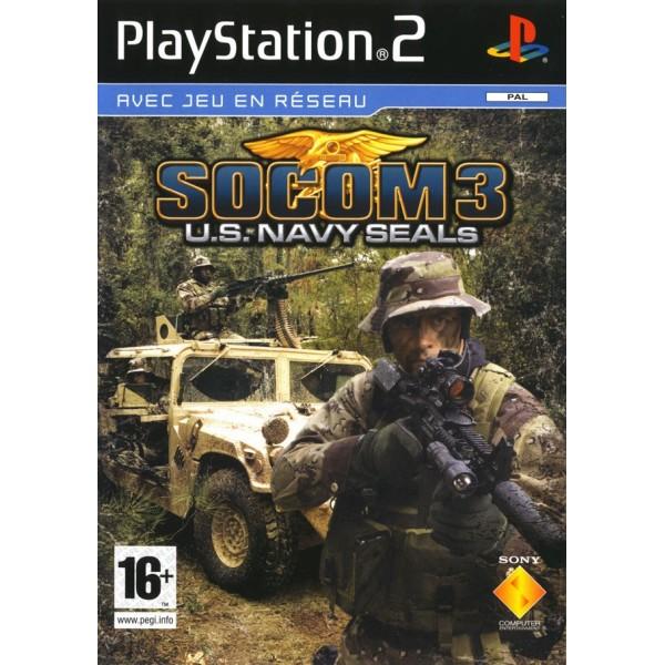 SOCOM 3 US NAVY SEALS PS2 PAL-FR OCCASION