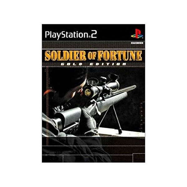 SOLDIER OF FORTUNE EDITION GOLD PS2 PAL-FR OCCASION