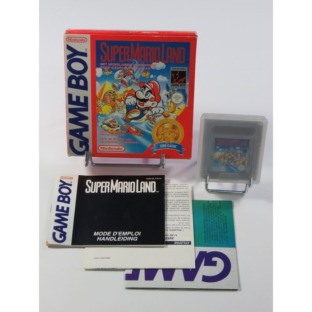 SUPER MARIO LAND GAMEBOY (GB) SERIE CLASSIC FAH (COMPLET - GOOD CONDITION)