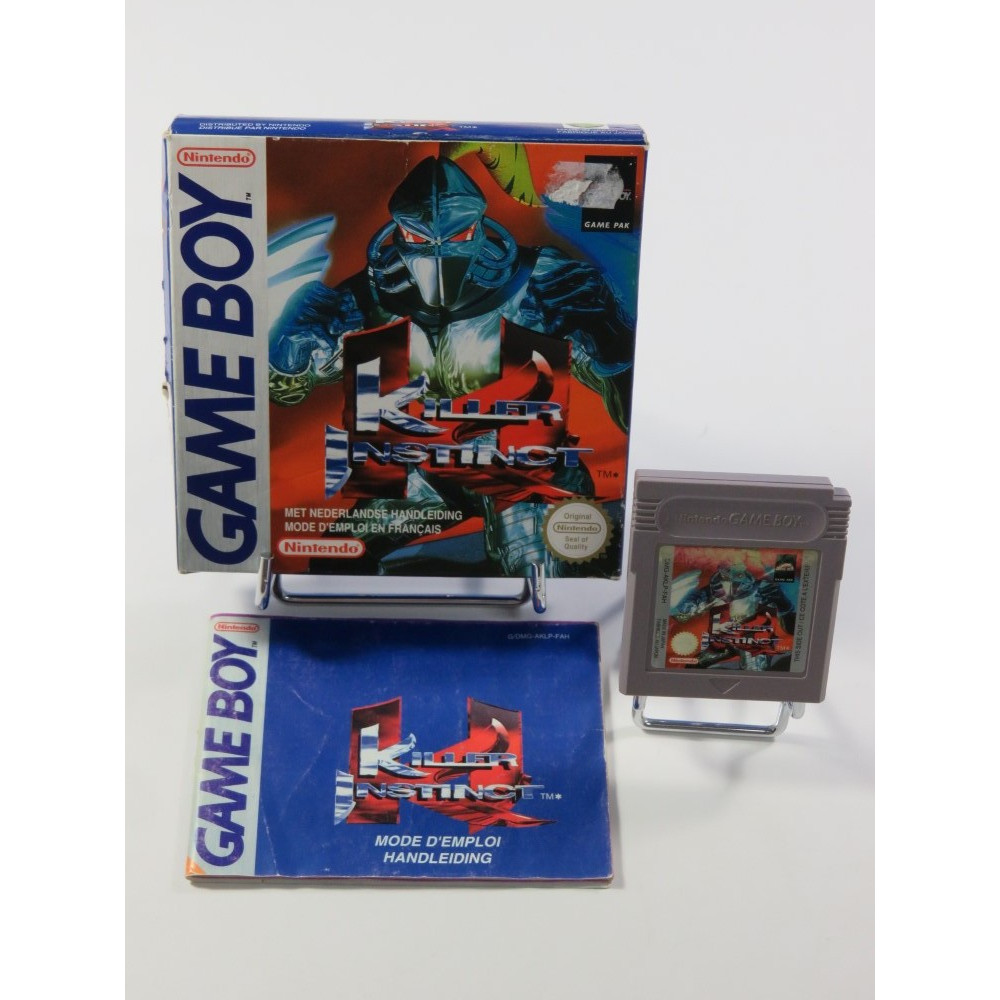 KILLER INSTINCT GAMEBOY (GB) FAH (COMPLET - RARE)