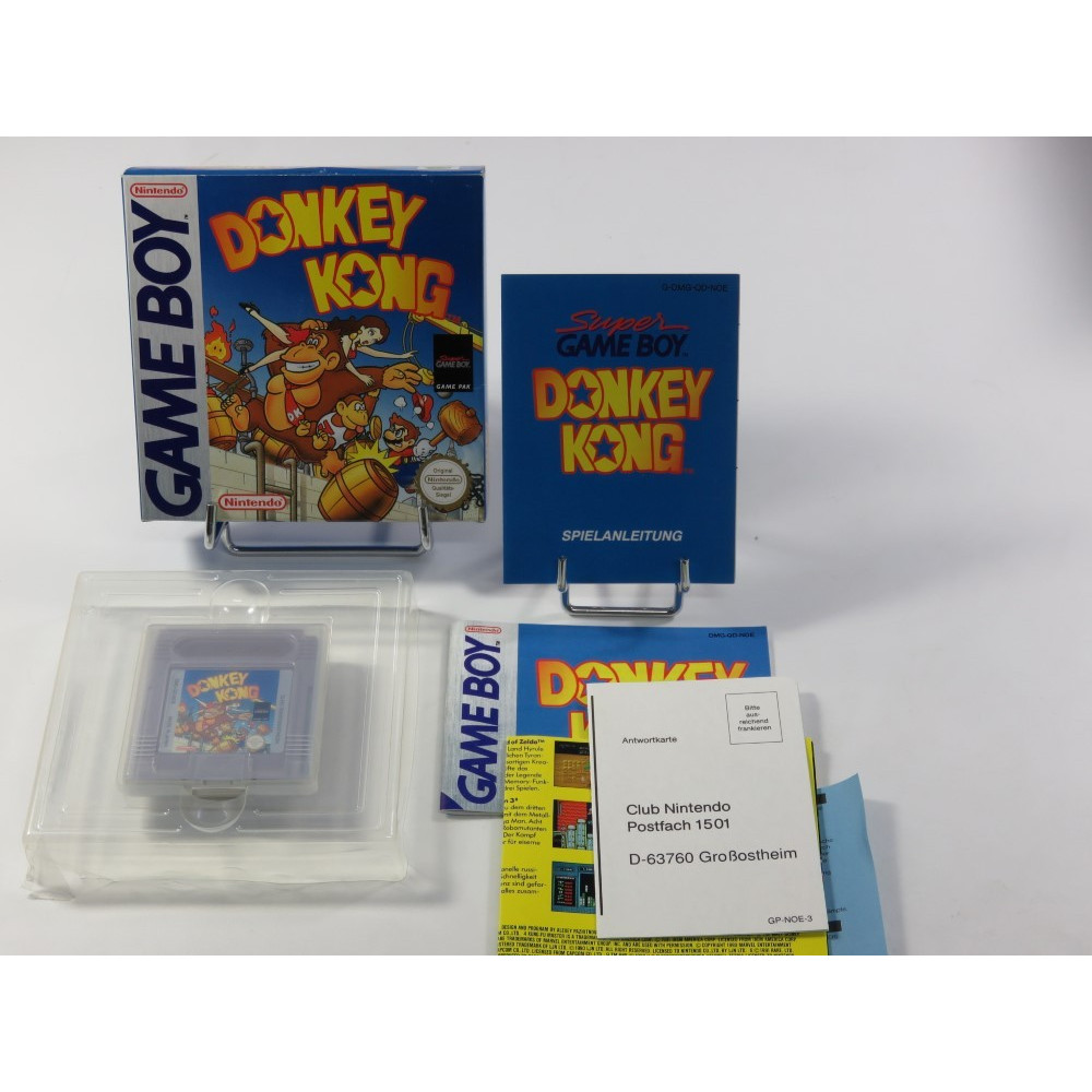 DONKEY KONG GAMEBOY (GB) NOE (COMPLET - EXCELLENT CONDITION)