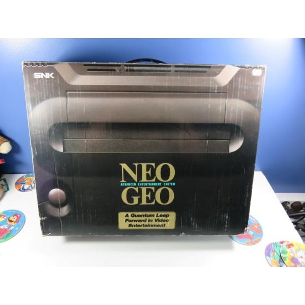 CONSOLE SNK NEO GEO AES EURO (SANS NOTICE - GOOD CONDITION) (EN BOITE)