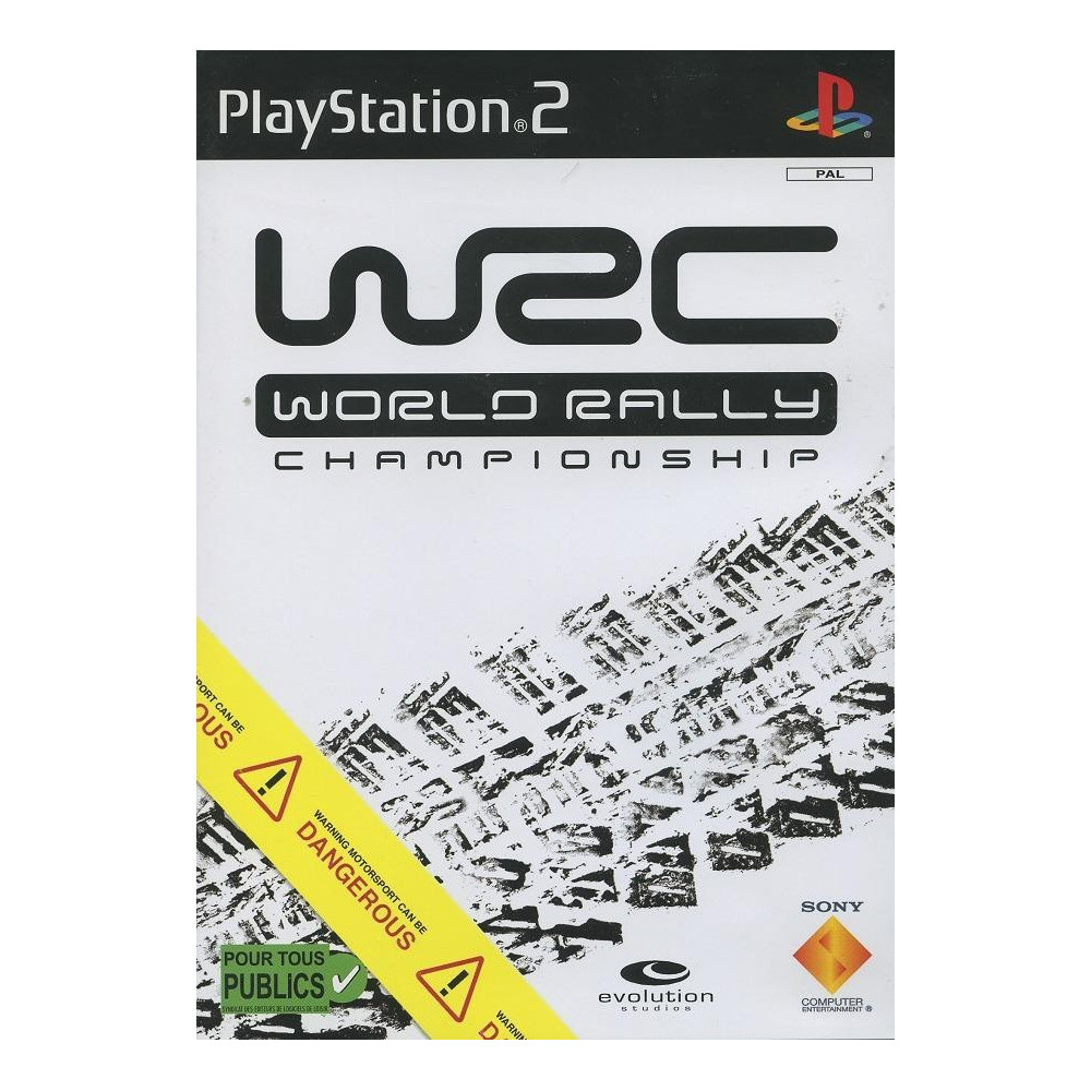 WORLD RALLY CHAMPIONSHIP PS2 PAL-FR OCCASION