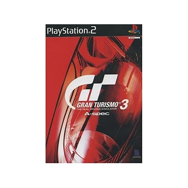 GRAN TURISMO 3 A-SPEC THE REAL DRIVING SIMULATOR PS2 PAL-EURO OCCASION