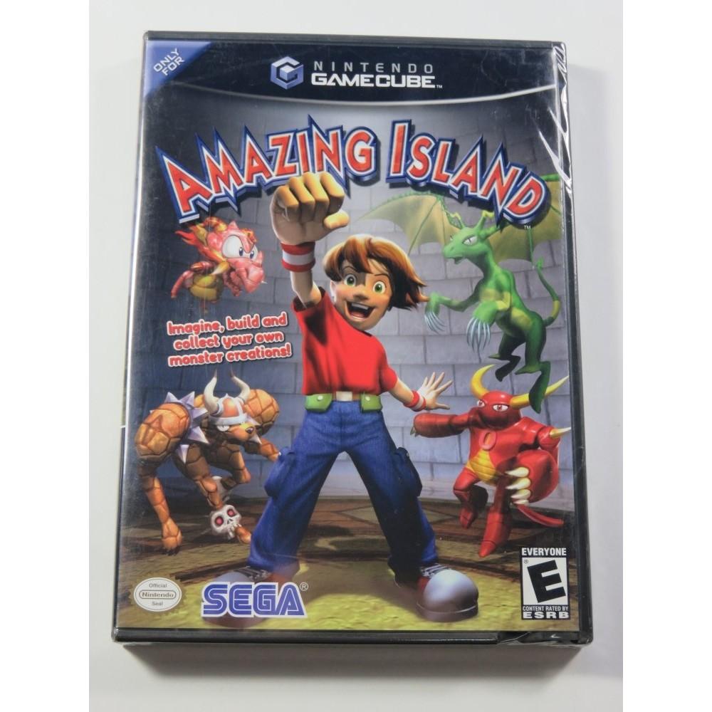 AMAZING ISLAND GAMECUBE NTSC-USA NEW - NEUF (OFFICIAL BLISTER)