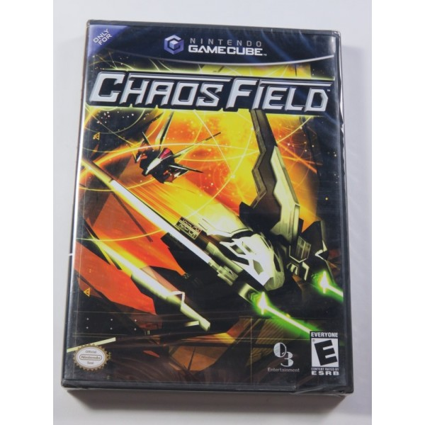 CHAOS FIELD GAMECUBE NTSC-USA BRAND NEW - NEUF (OFFICIAL BLISTER - SHMUP)