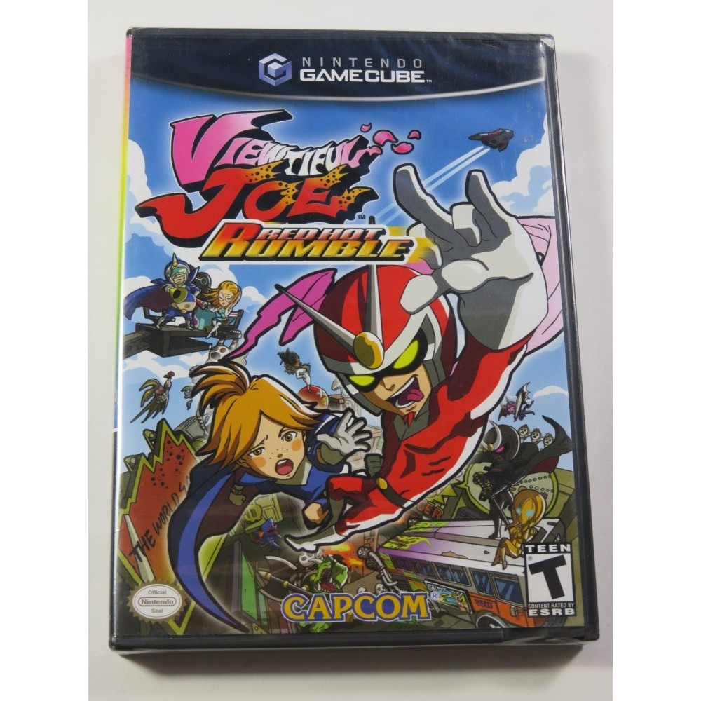 VIEWTIFUL JOE - RED HOT RUMBLE GAMECUBE NTSC-USA NEUF - NEW (OFFICIAL BLISTER) (CLOVER STUDIO)