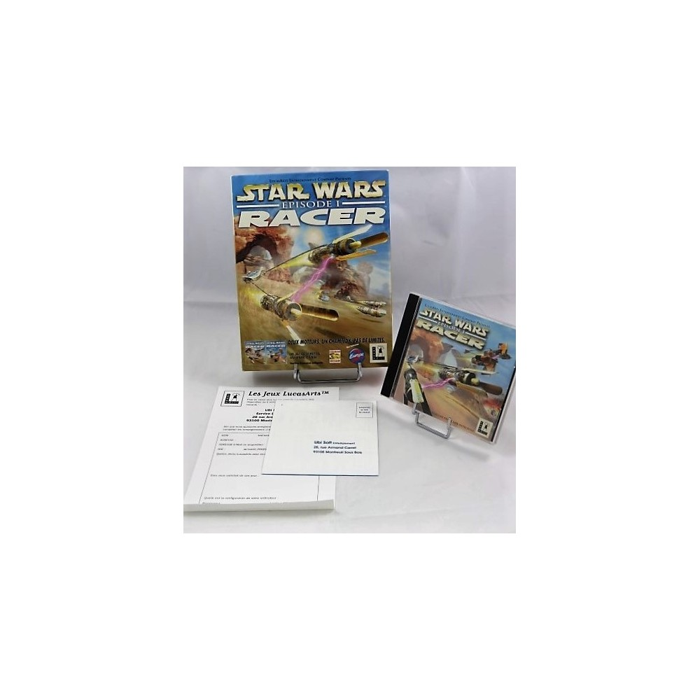 STAR WARS RACER EPISODE 1 PC BIG BOX FR OCCASION