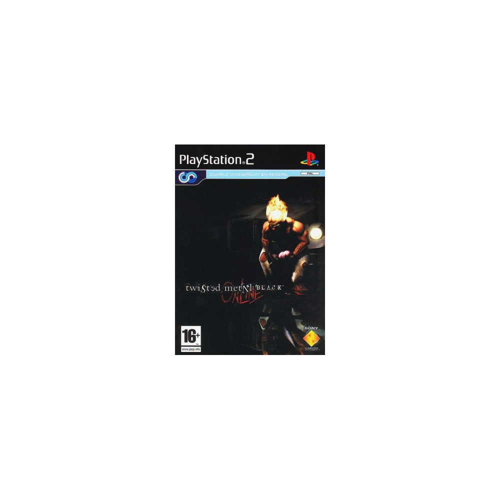 TWISTED METAL : BLACK ONLINE PS2 PAL-EURO OCCASION (NETWORK ONLY)