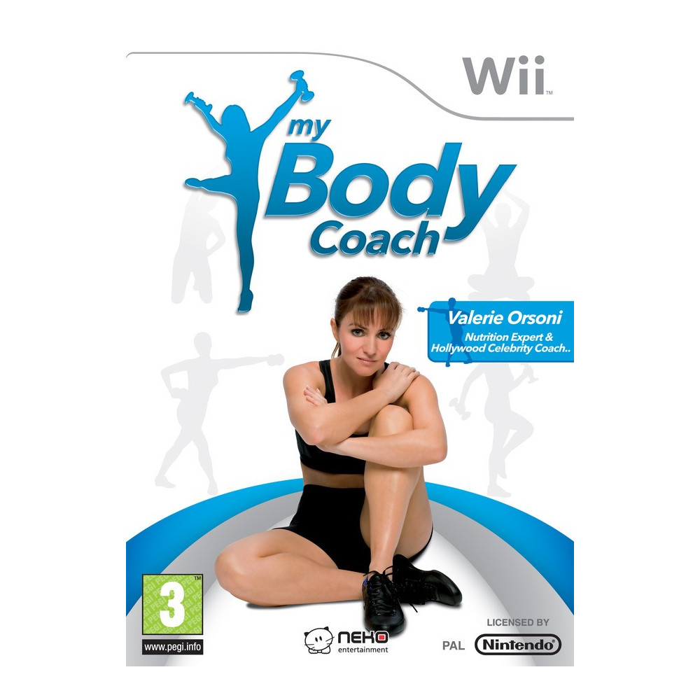 BODY COACHING + 2 HALTERES WII PAL-FR OCCASION