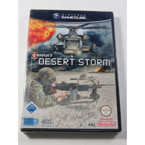 CONFLICT DESERT STORM GAMECUBE PAL-EURO NEUF - BRAND NEW (OFFICIAL BLISTER)