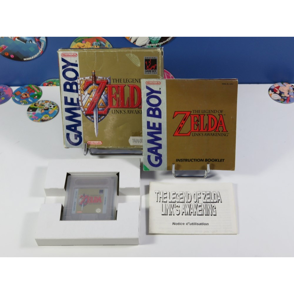 THE LEGEND OF ZELDA - LINK S AWAKENING GAMEBOY (GB) UKV (COMPLET + FR MANUAL)