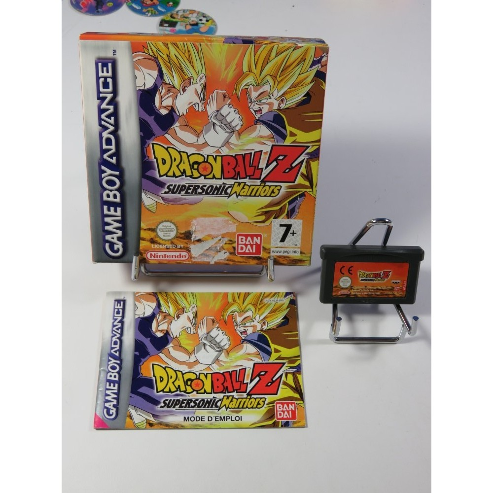 DRAGONBALL Z (DBZ) SUPERSONIC WARRIORS GAMEBOY ADVANCE (GBA) FRA (COMPLET - GOOD CONDITION OVERALL)