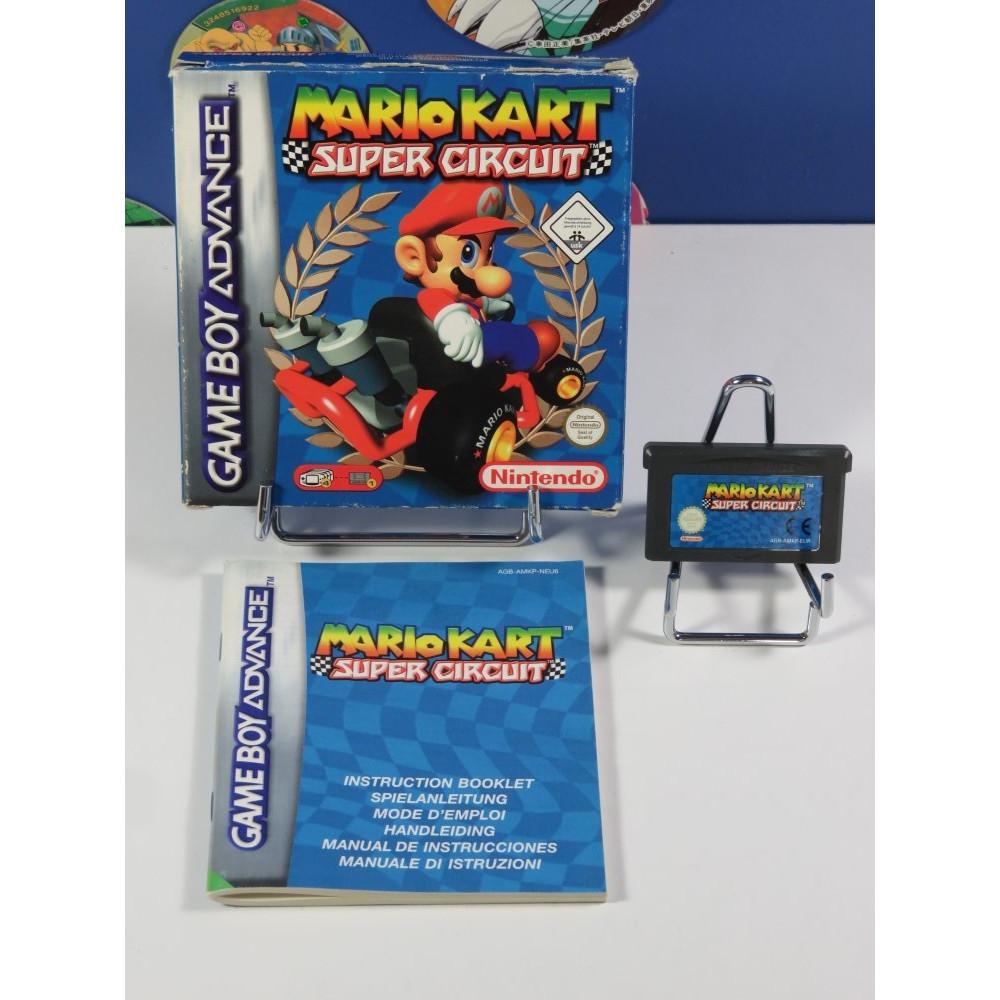 MARIO KART - SUPER CIRCUIT GAMEBOY ADVANCE (GBA) NEU6 (COMPLET - GOOD CONDITION)