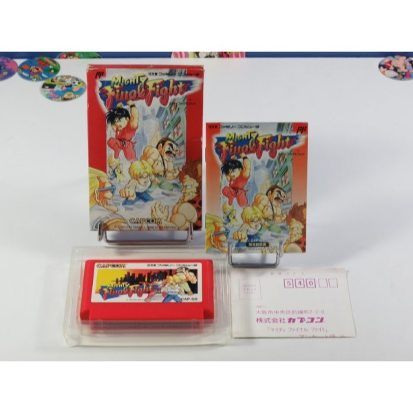MIGHTY FINAL FIGHT FAMICOM (FC) (COMPLET - GOOD CONDITION) CAPCOM BEAT THEM UP
