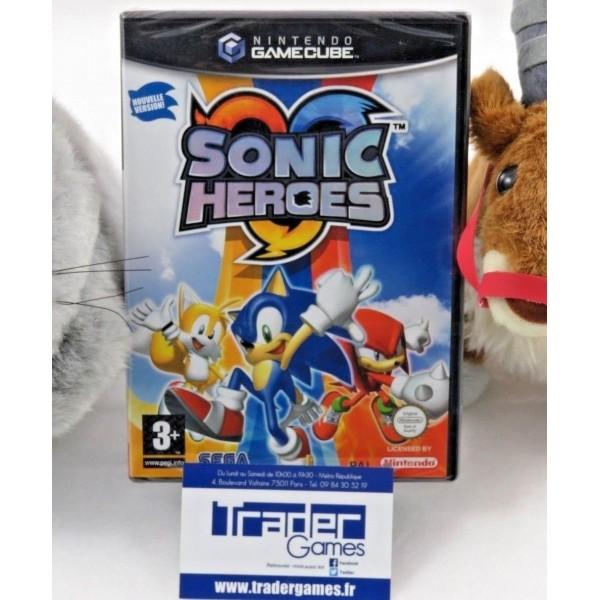 Sonic Heroes GameCube Nintendo PAL FR neuf BLISTER RARE