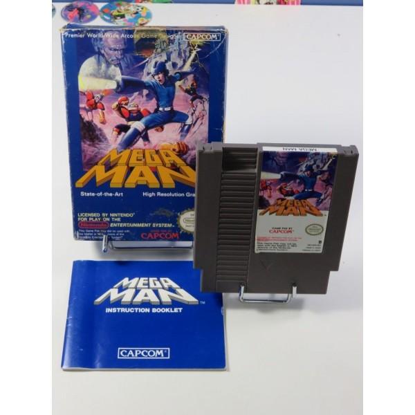 MEGAMAN - ROCKMAN NINTENDO (NES) PAL-B EEC-FRA (COMPLET)