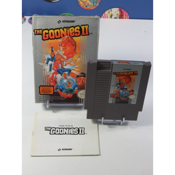 THE GOONIES II NINTENDO (NES) PAL-B-FAH (COMPLET - 1987)