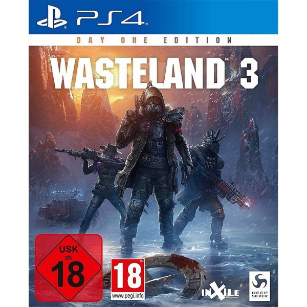 WASTELAND 3 DAY ONE EDITION PS4 FR OCCASION