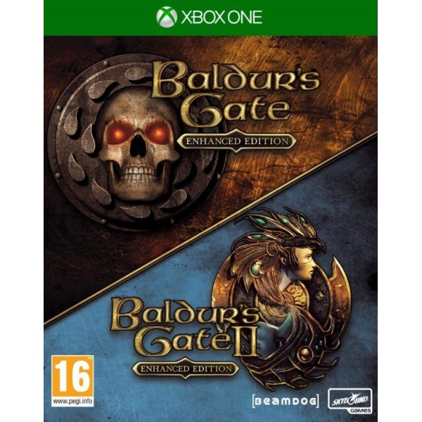 BALDUR S GATE & BALDUR S GATE II ENHANCED EDITIONS XBOX ONE FR OCCASION