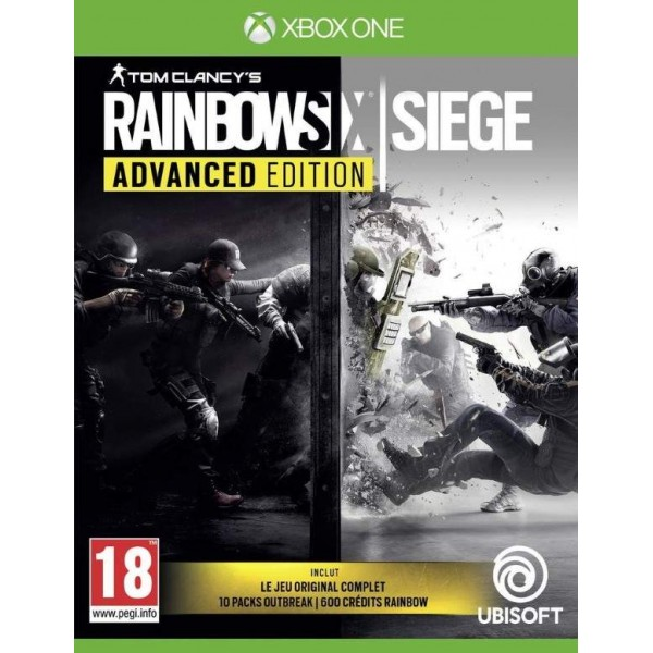 RAINBOW SIX SIEGE ADVANCED EDITION XBOX ONE FR OCCASION
