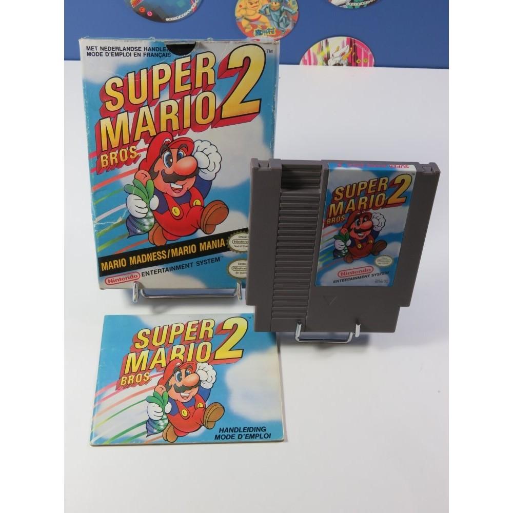 SUPER MARIO BROS 2 NINTENDO (NES) PAL-B-FAH (COMPLET - GOOD CONDITION)