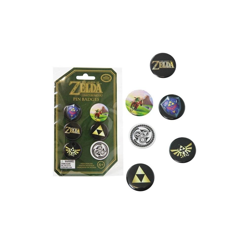THE LEGEND OF ZELDA: PIN BADGES