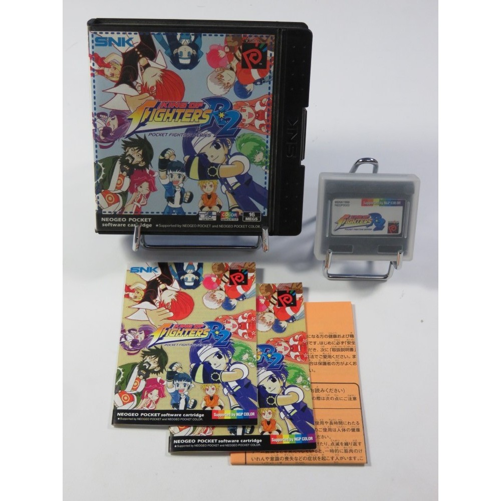 KING OF FIGHTERS R2 POCKET FIGHTING SERIES SNK NEO GEO POCKET COLOR EUR (COMPLET - GREAT CONDITION)
