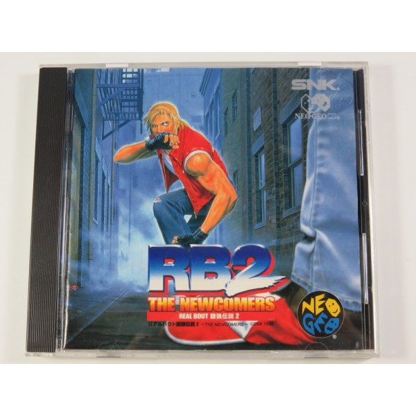 RB2 THE NEWCOMERS: REAL BOUT GAROU DENSETSU 2 NEOGEO CD JPN (COMPLET) SNK 1998 FATAL FURY