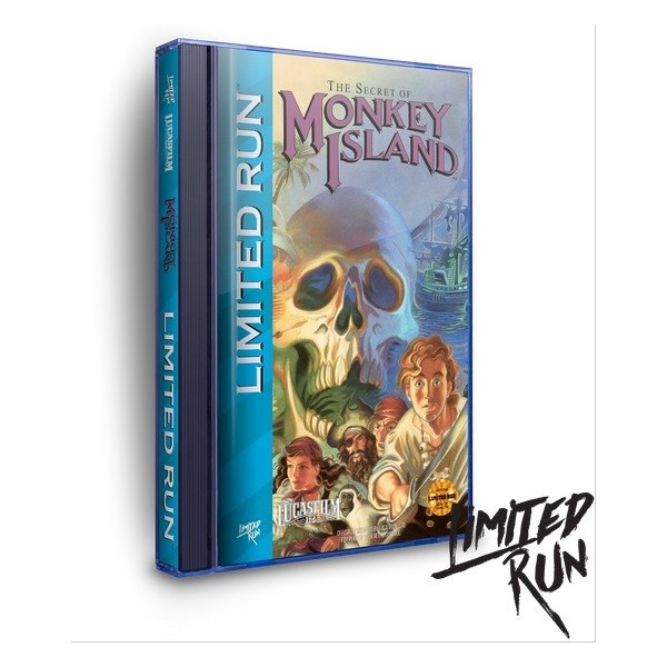THE SECRET OF MONKEY ISLAND SEGA CD US NEW(LIMITED RUN GAMES)
