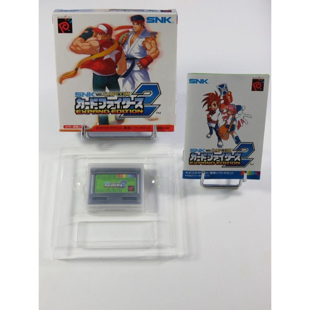 SNK VS. CAPCOM CARDFIGHTERS CLASH 2 EXPAND EDITION SNK NEO GEO POCKET COLOR (COMPLET - GOOD CONDITION)