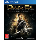 DEUS EX MANKIND DIVIDED EDITION DAY ONE PS4 UK NEW