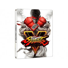 STREET FIGHTER 5 STEELBOOK PS4 FR OCCASION