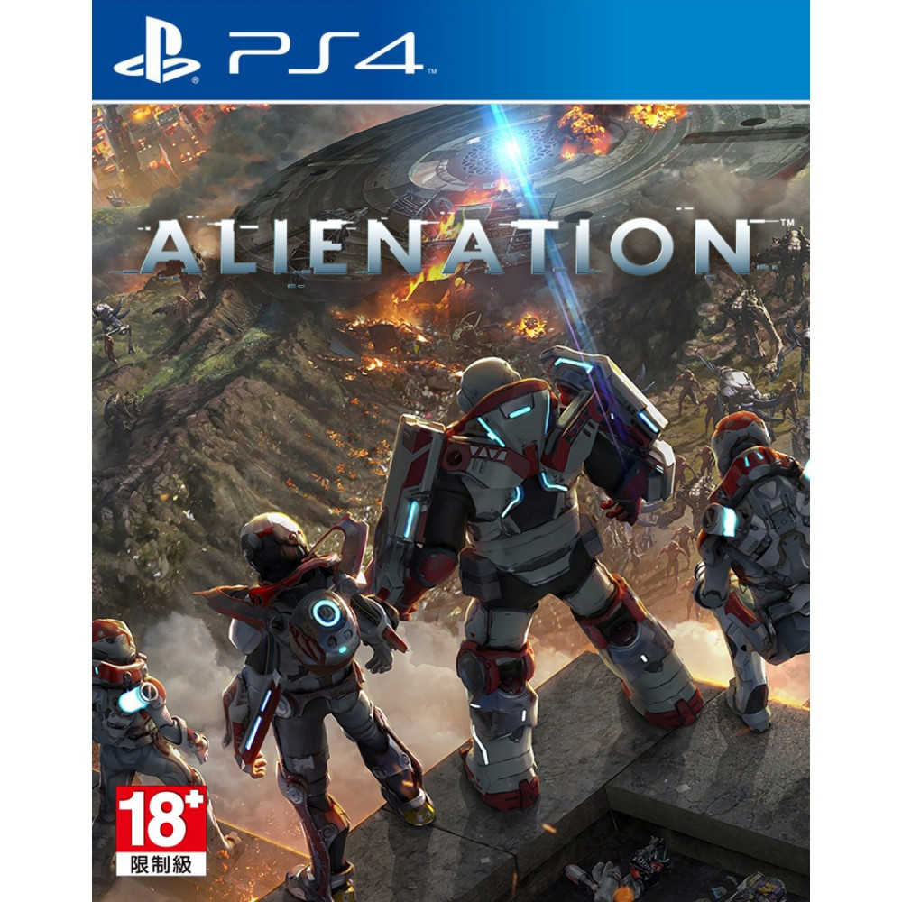 ALIENATION PS4 ASIAN NEW