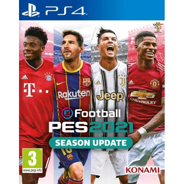 PRO EVOLUTION SOCCER 2021 EFOOTBALL PS4 FR NEW