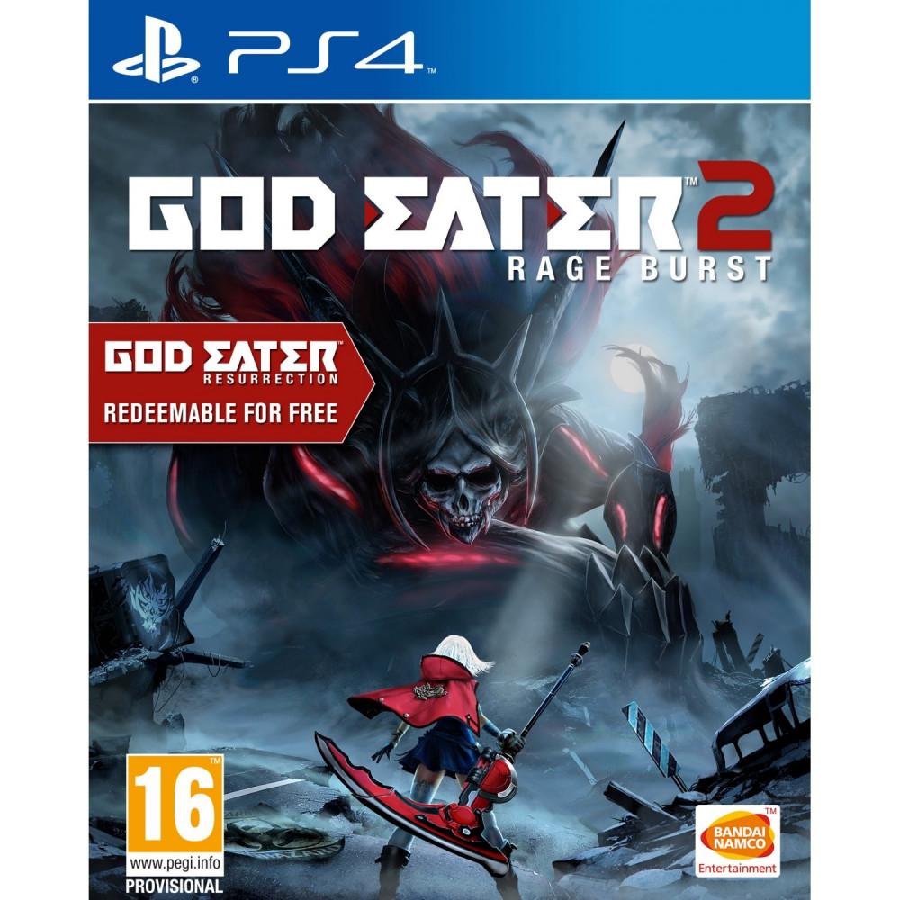 GOD EATER 2 RAGE BURST PS4 UK NEW