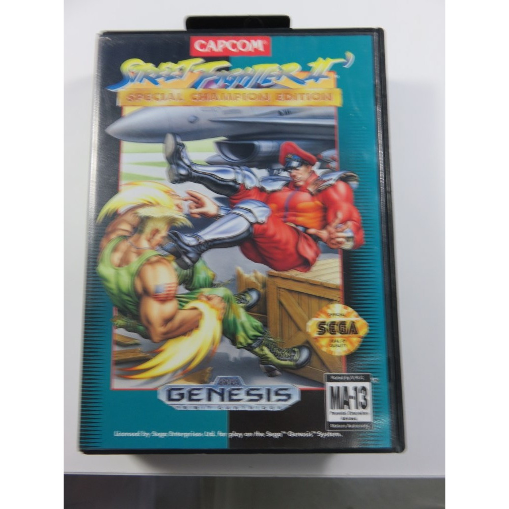 STREET FIGHTER II DASH SPECIAL CHAMPIONSHIP EDITION MEGADRIVE NTSC-USA (FIGHT) - (COMPLETE)