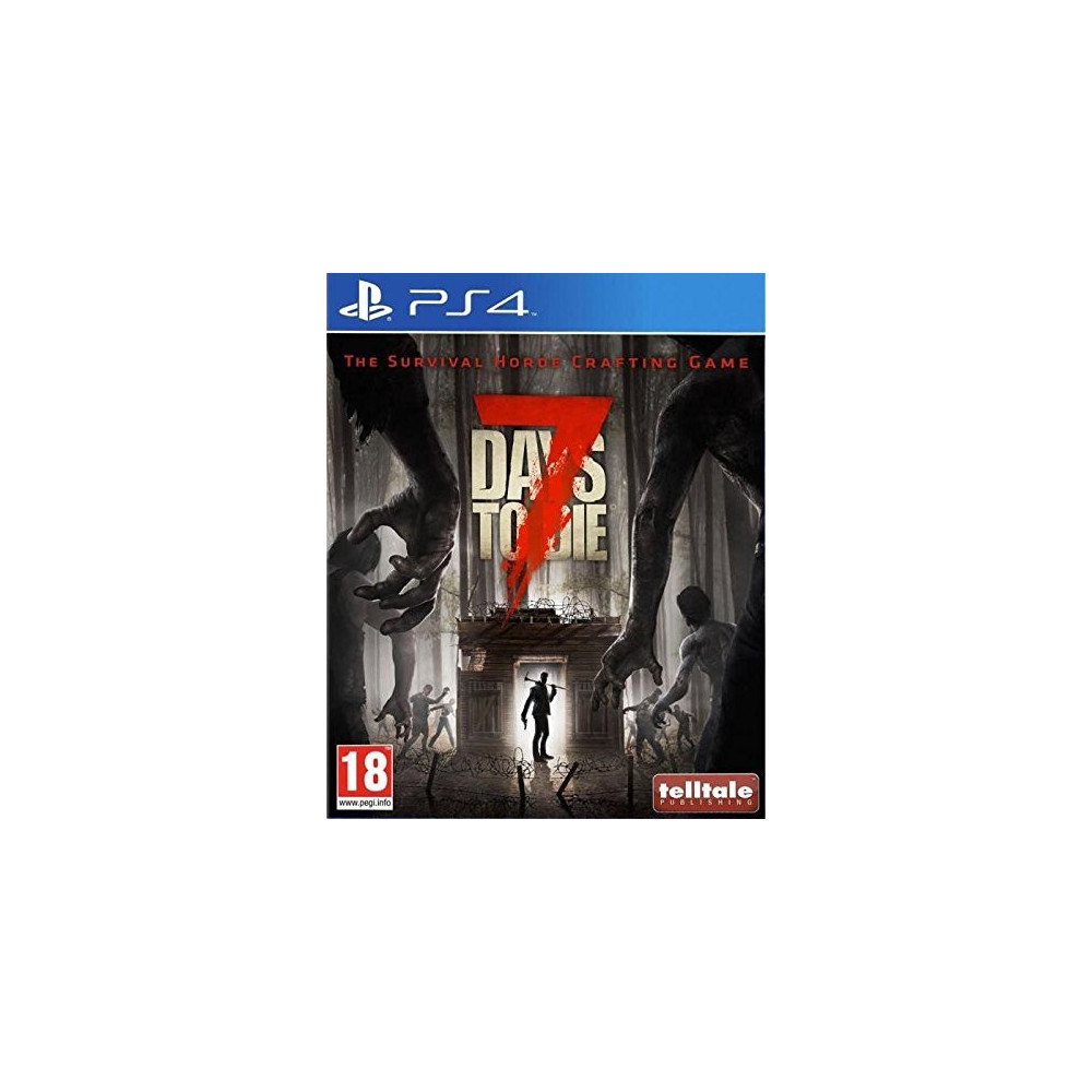 7 DAYS TO DIE PS4 FR NEW