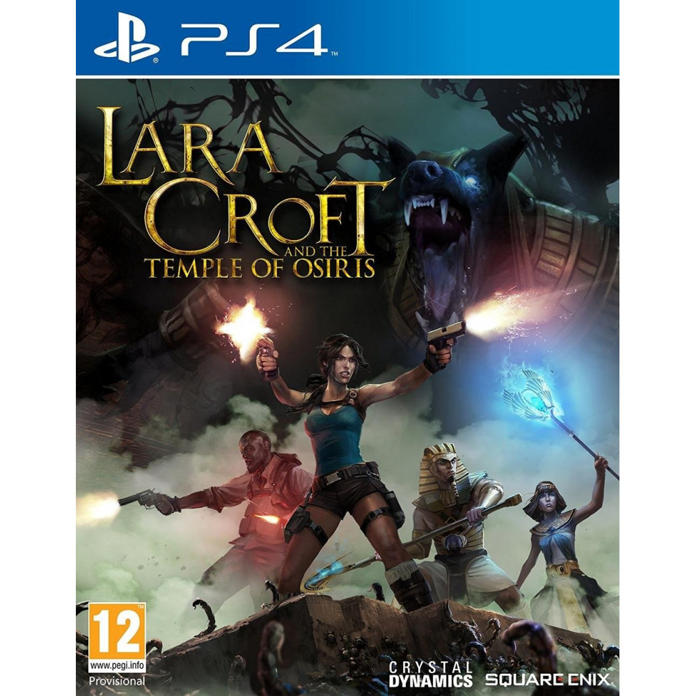 LARA CROFT AND THE TEMPLE OF OSIRIS PS4 FR OCCASION