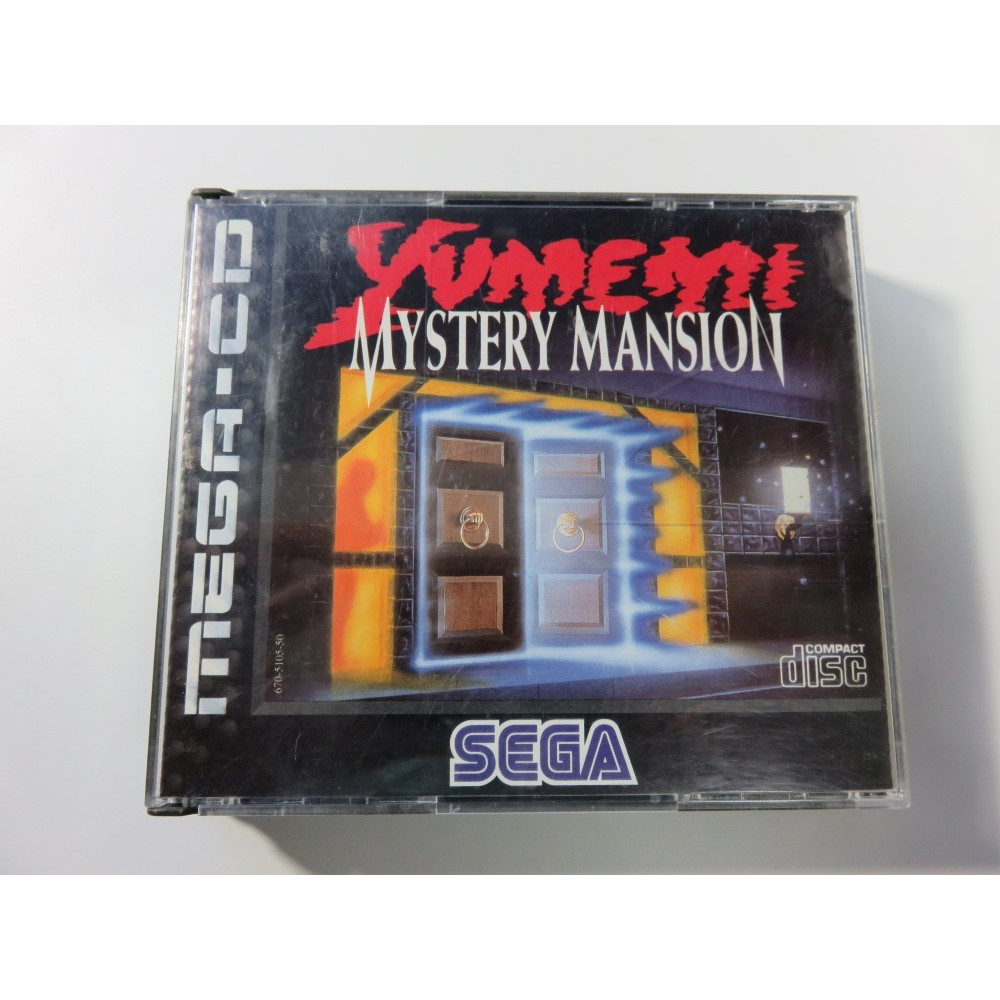YUMEMI MYSTERY MANSION MEGA-CD PAL-EURO (COMPLET)