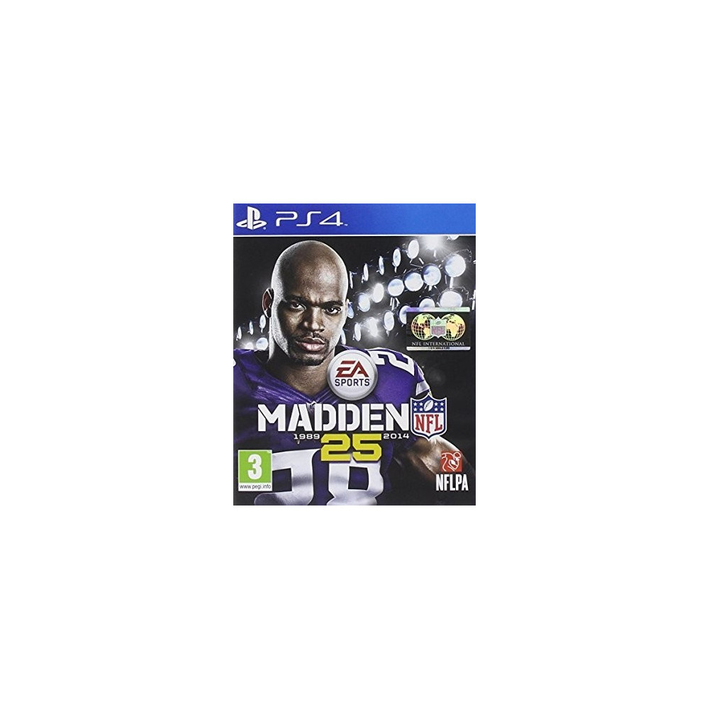 MADDEN NFL 25 PS4 UK OCCASION