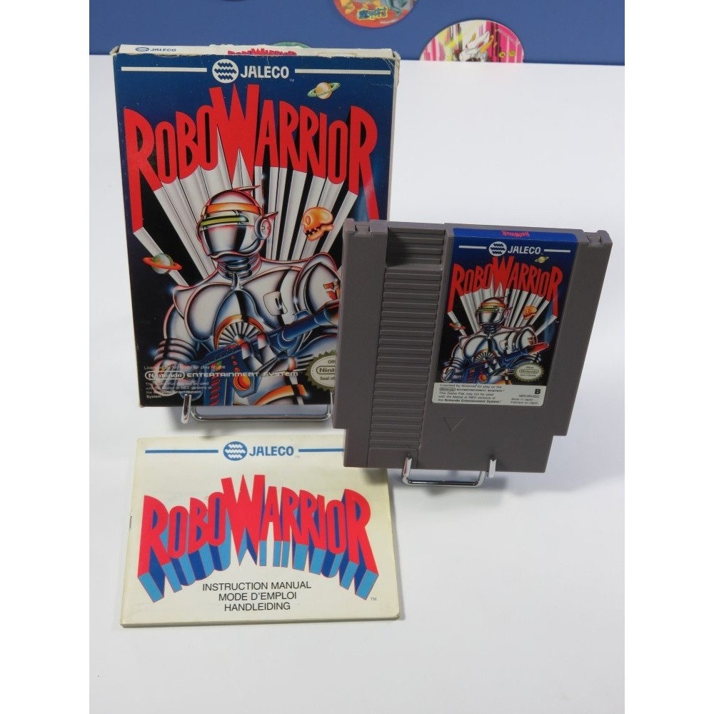 ROBO WARRIORS - BOMBER KING NINTENDO NES PAL-B FAH (COMPLET - BOMBERMAN SPIN-OFF)