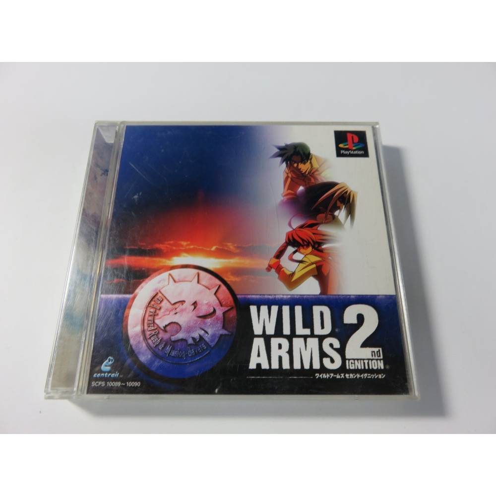 WILD ARMS 2 PLAYSTATION 1 NTSC-JPN (RPG) - (COMPLETE)