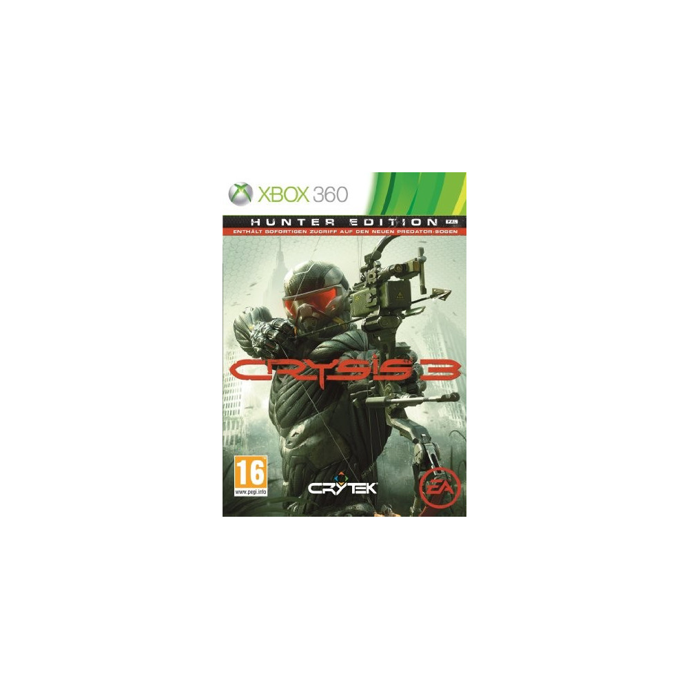 CRYSIS 3 HUNTER EDITION XBOX 360 PAL-FR OCCASION