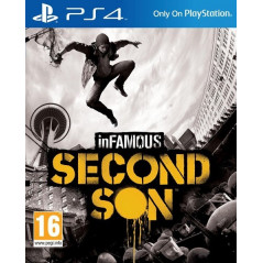 INFAMOUS SECOND SON PS4 EURO OCCASION