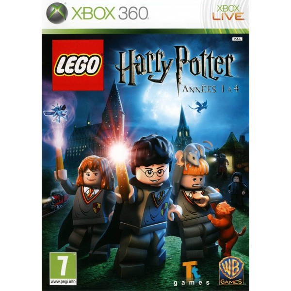 LEGO HARRY POTTER ANNEE 1 A 4 XBOX 360 PAL-FR OCCASION