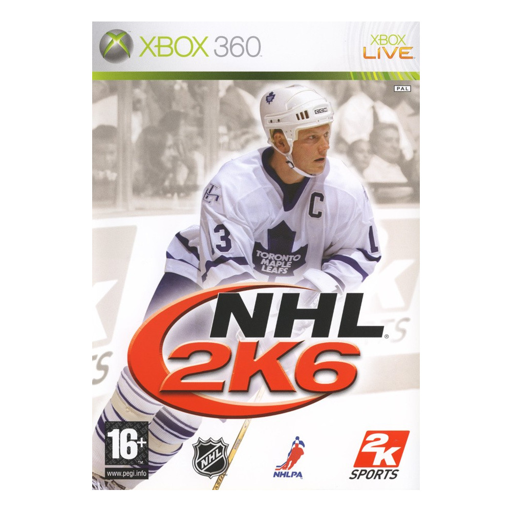NHL 2K6 XBOX 360 PAL-FR OCCASION