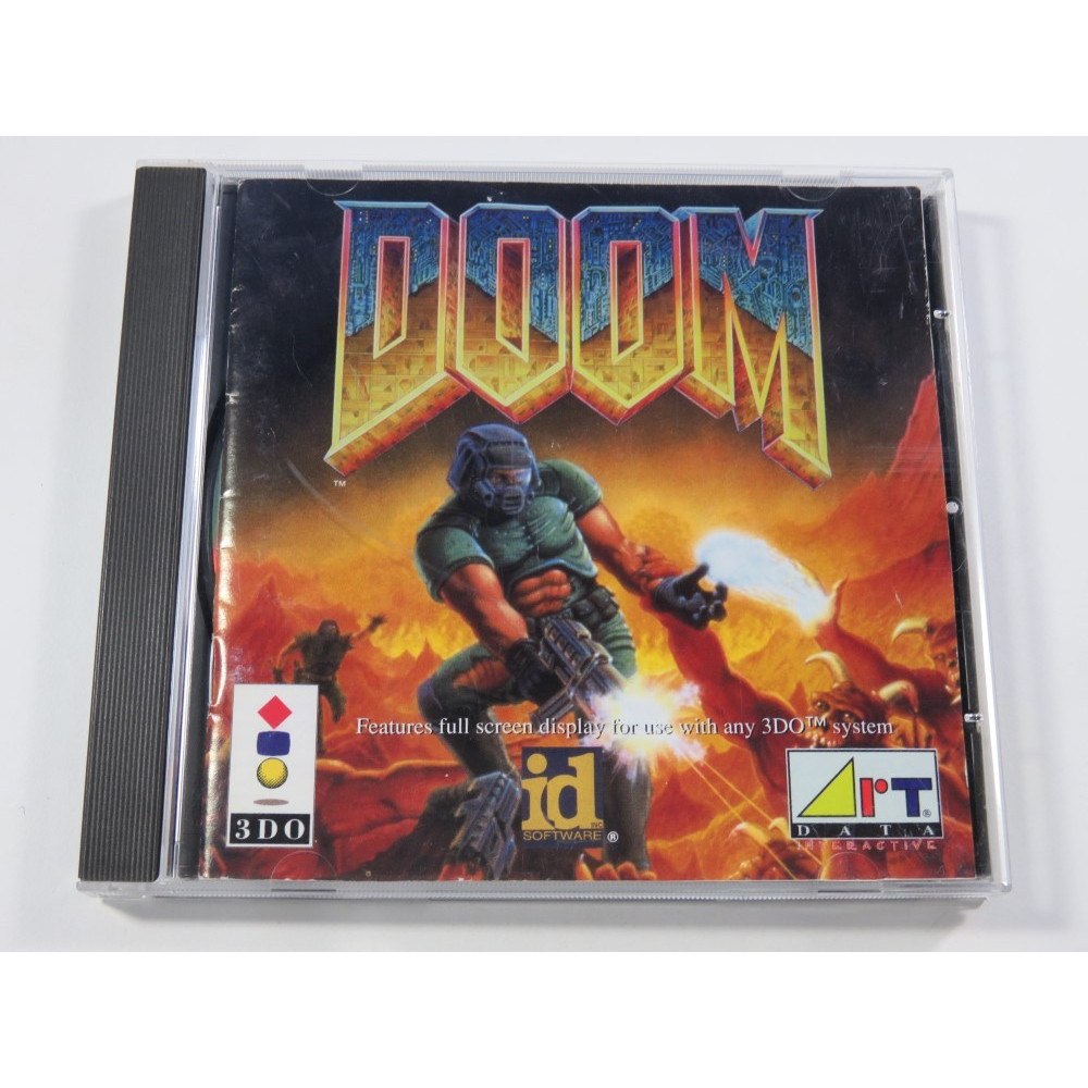 DOOM PANASONIC 3DO PAL-EURO (COMPLET - GOOD CONDITION) (FPS - ID SOFTWARE)