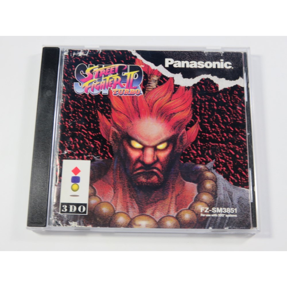 SUPER STREET FIGHTER II TURBO PANASONIC 3DO NTSC-USA (COMPLET - CAPCOM)